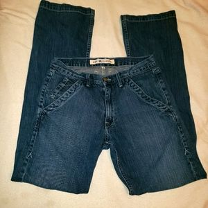 Agave Expatriot Relaxed Fit Straight Cut 32 Jeans